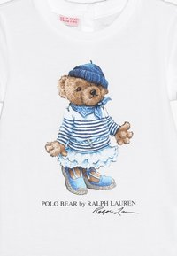 Polo Ralph Lauren - BEAR TEE - T-Shirt print - white - 3