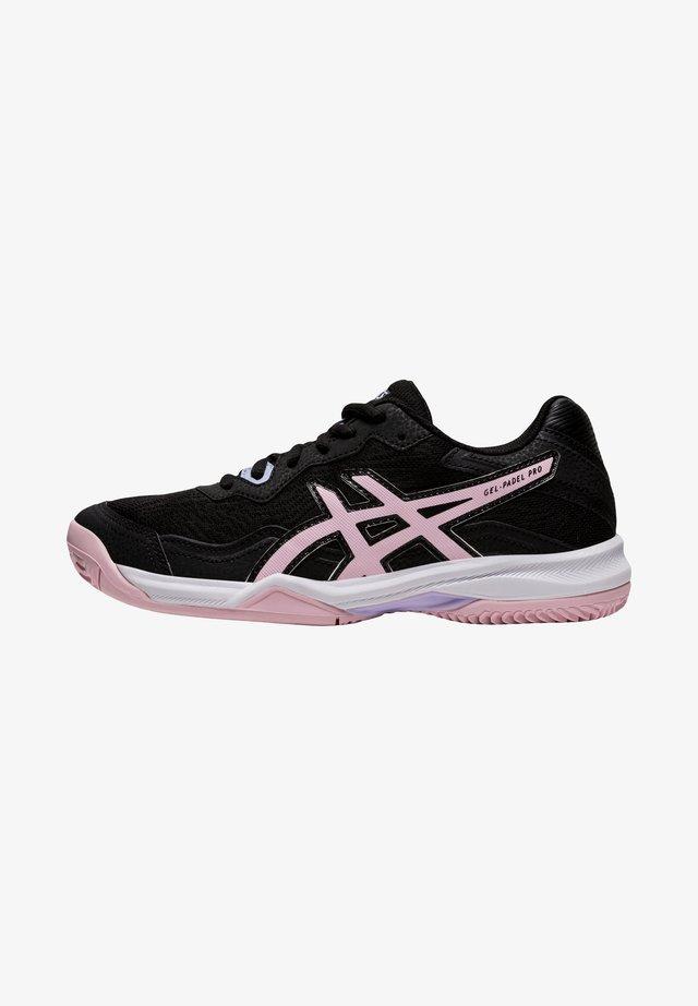 GEL-PADEL PRO 4 - Sneakers laag - black/pink salt