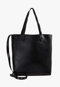 Madewell - MEDIUM TRANSPORT TOTE - Handbag - true black - 5