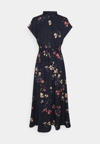 Vero Moda - VMHALLIE LONG TIE DRESS - Shirt dress - night sky/hallie - 0
