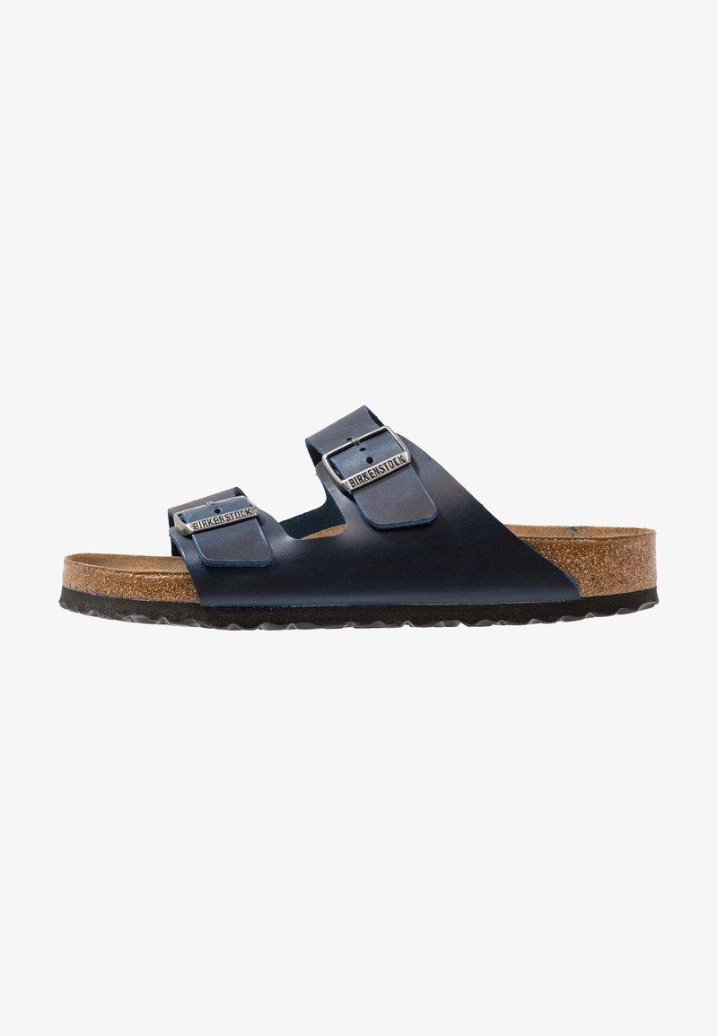 Birkenstock - ARIZONA SOFT FOOTBED - Slippers - blue