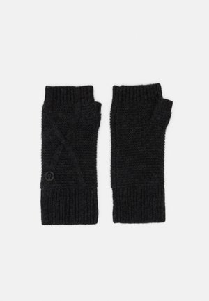 EDENVALE GLOVE - Fingerless gloves - deep charcoal