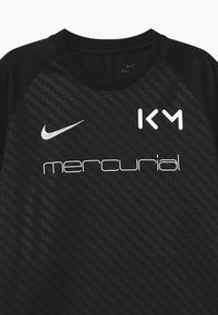 Nike Performance - KYLIAN MBAPPE - Print T-shirt - black/white