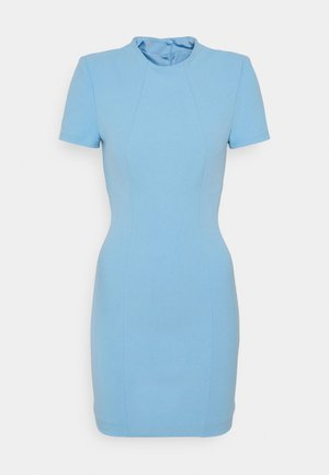 THE SUN RAYS MINI DRESS - Sukienka etui - blue
