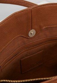KIOMI - LEATHER - Laptop bag - cognac - 4