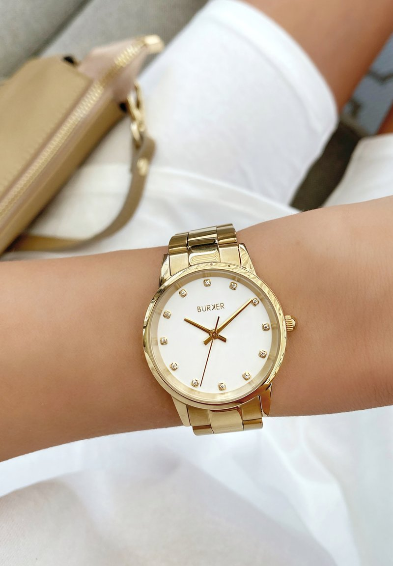 Burker - Chronograaf - gold/white
