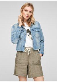 s.Oliver - Denim jacket - light blue - 3