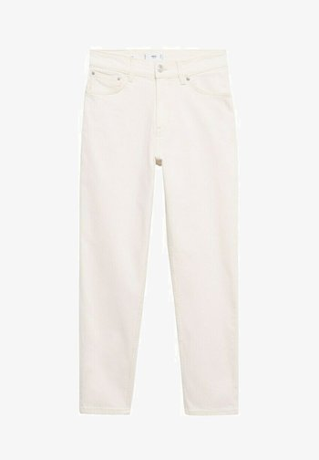Slim fit jeans - off white