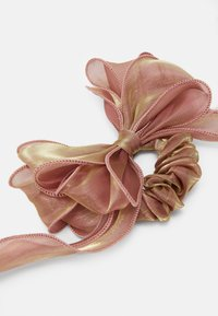 Pieces - PCODA BOW SCRUNCHIE 2 PACK - Hair Styling Accessory - black/rose - 1
