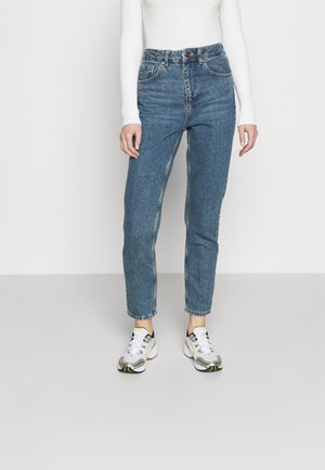 MOM VINTAGE - Relaxed fit jeans - dark denim