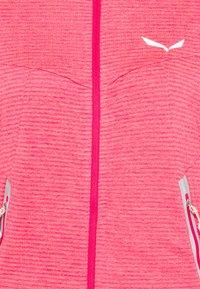 Salewa - PEDROC - Fleece jacket - virtual pink melange - 6