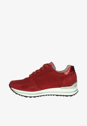 Sneakers laag - rood