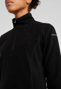 Icepeak - FRIONA - Bluza z polaru - black - 5