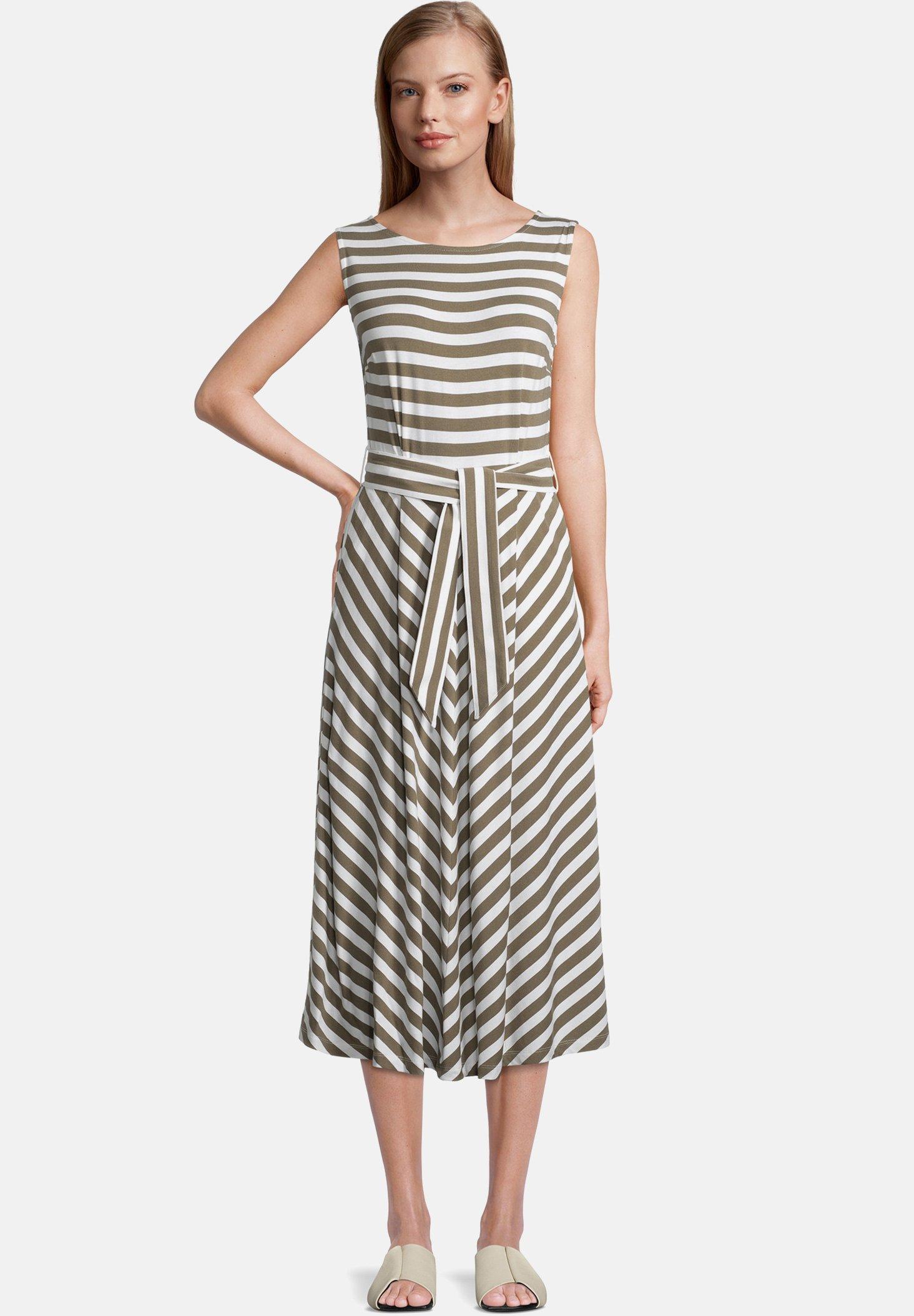 Damen MIT STREIFEN - Jerseykleid