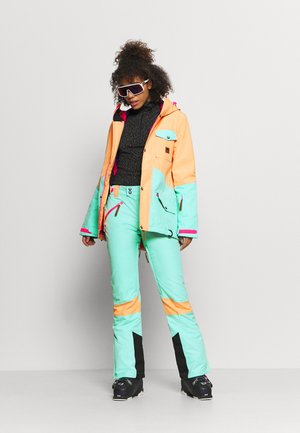1080 WOMEN'S JACKET  - Ski jacket - mint/peach