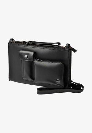 LEATHER CLUTCH - Wallet - black