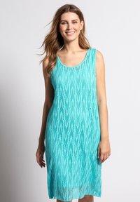 GINA LAURA - Jerseyklänning - pastellgrün - 0