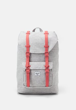 LITTLE AMERICA UNISEX - Zaino - grey crosshatch/dusty cedar