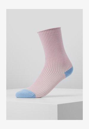 MALENE GLITTER - Socks - rose/blue