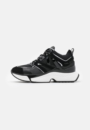 AVENTUR DELTA MIX - Sneakersy niskie - black