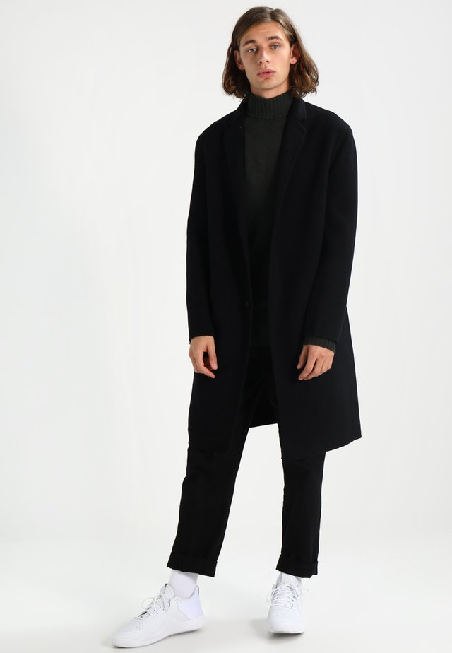FOLEY - Classic coat - black