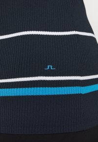 J.LINDEBERG - BERTHE STRIPED GOLF - Jumper - navy - 5