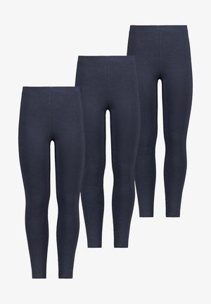 3 PACK - Leggings - Trousers - dark blue