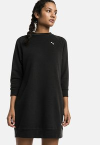 Puma - Jersey dress - puma black - 0