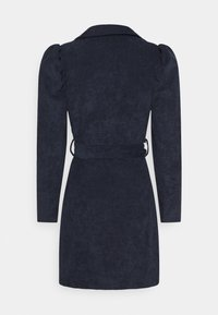 Missguided - TIE DYE BELTED DRESS - Etuikjoler - navy - 1