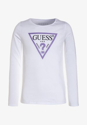 Long sleeved top - true white
