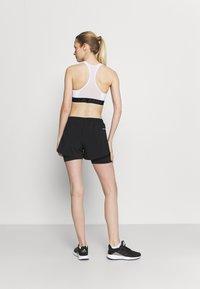 adidas Performance - Pantalón corto de deporte - black/white - 2