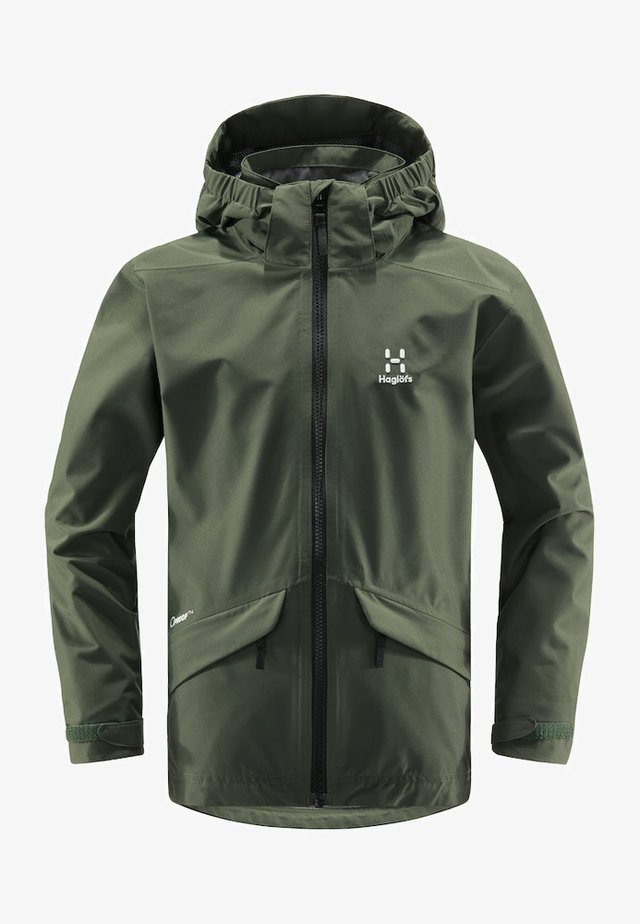 MILA - Hardshell jacket - fjell green