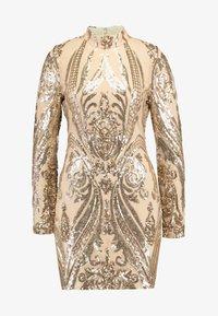 Nly by Nelly - SEQUIN DRESS - Vestito elegante - champagne - 5