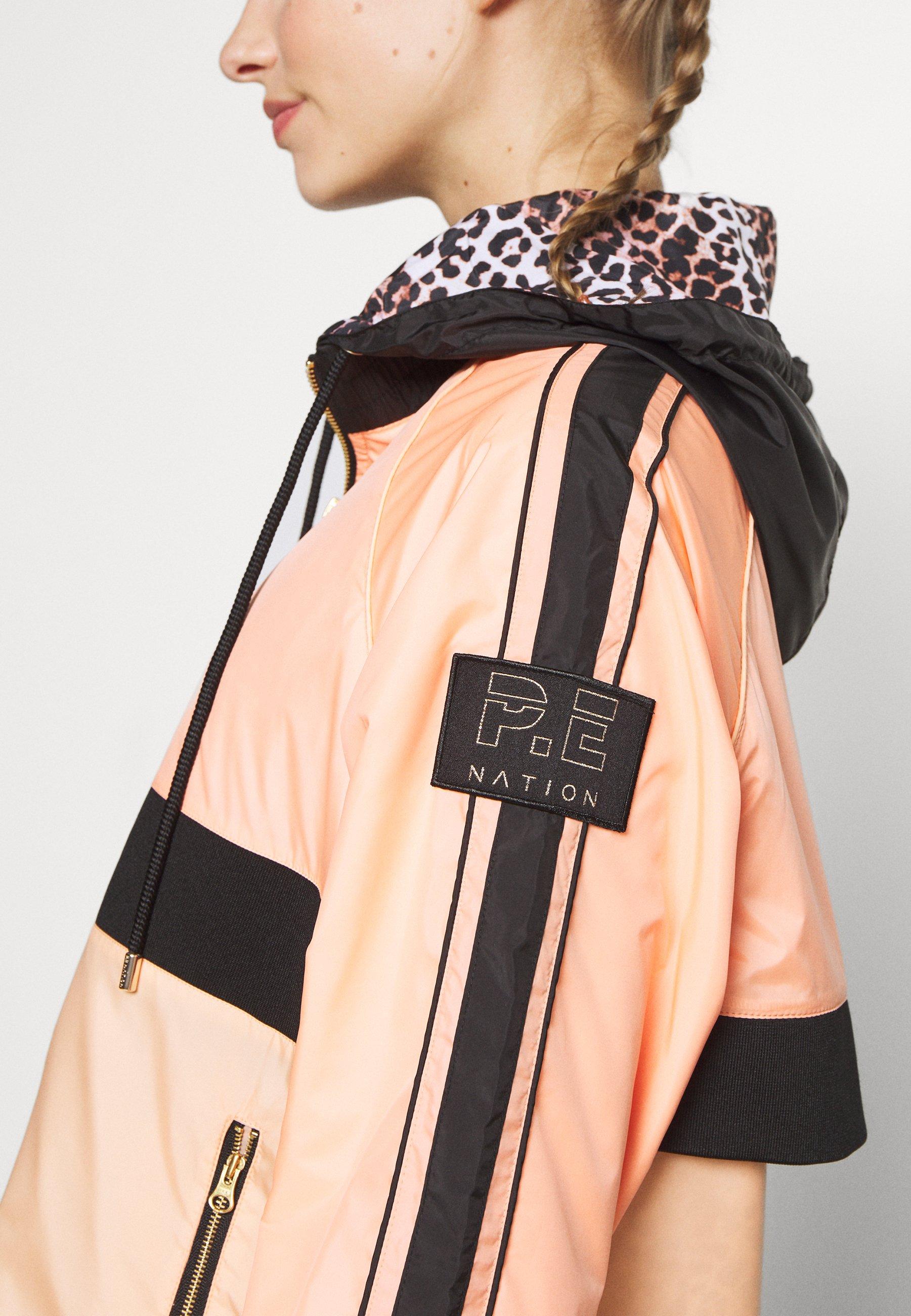 P.E Nation MAN DOWN JACKET - Training jacket - poppy peach SG7Ju