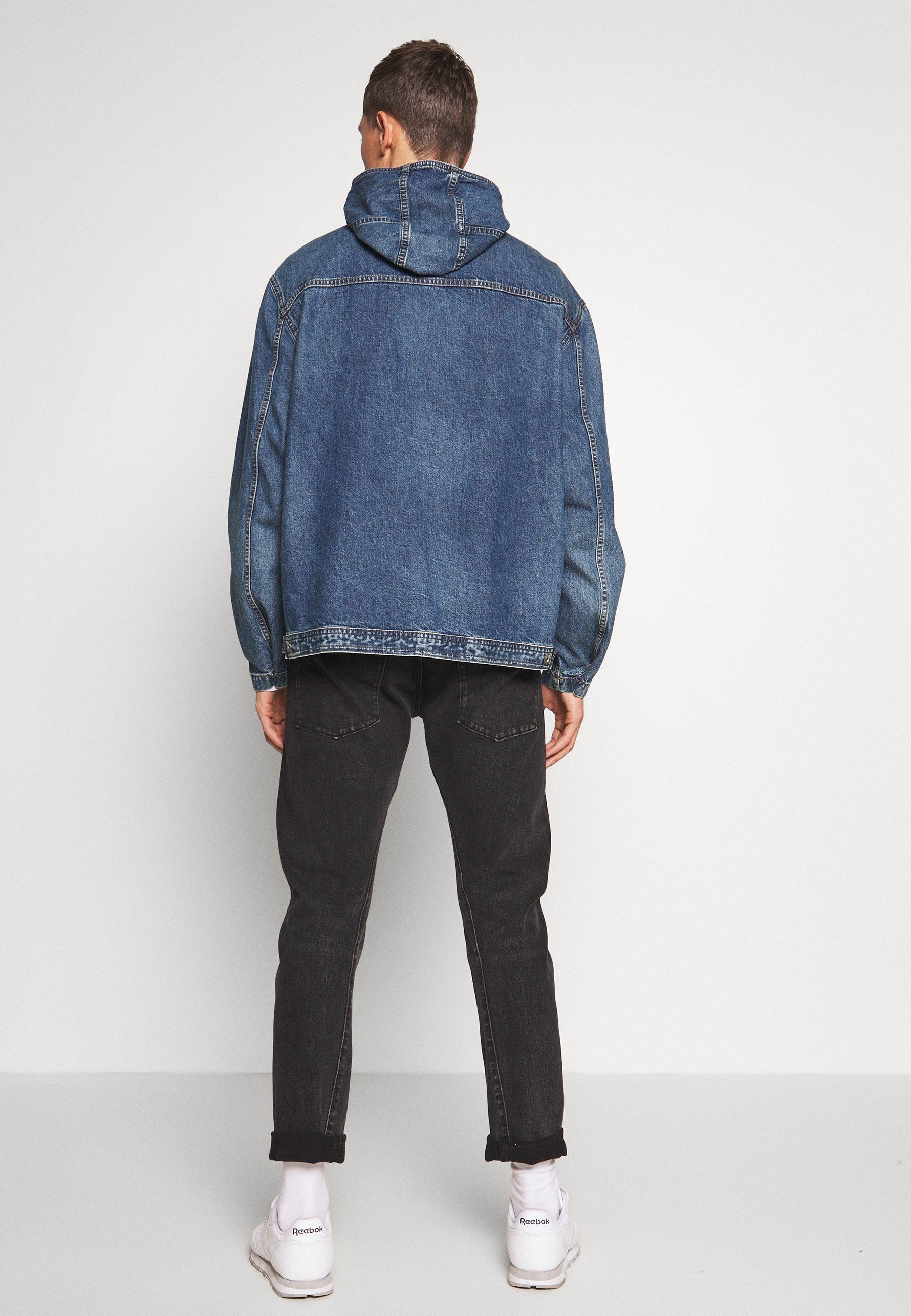 GAP Veste en jean - washed denim blue