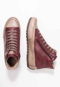 Candice Cooper - PLUS - Sneakers high - tamponato porpora/tamponato stone - 3