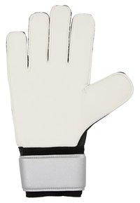 adidas Performance - PRED - Goalkeeping gloves - silver metallic/black - 4
