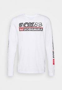 Fox Racing - YOSHIMURA TEE - Long sleeved top - white - 0
