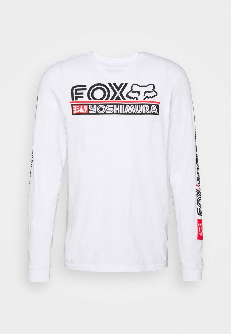 Fox Racing - YOSHIMURA TEE - Long sleeved top - white