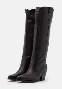 Bianca Di - Cowboy/Biker boots - nero - 2