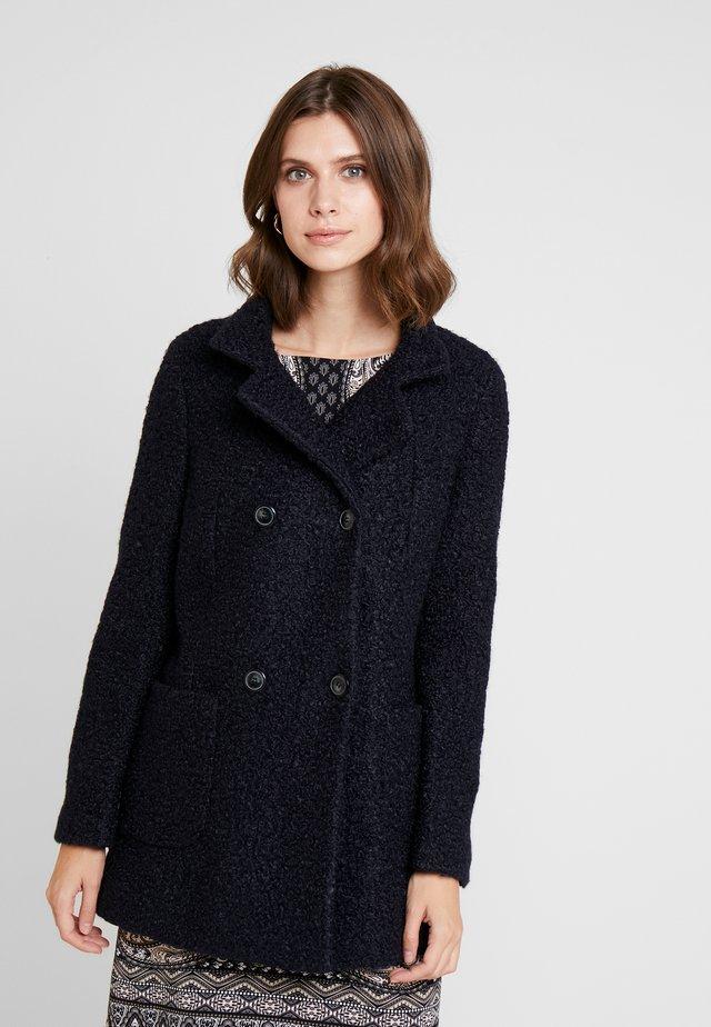 Krátký kabát - luxury blue