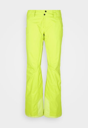 INSULATED SNOWBELLE PANTS - Snow pants - chartreuse