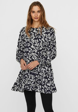 Tunic - navy blazer