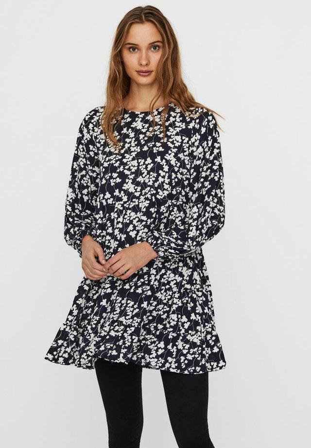 Tunic - navy blazer