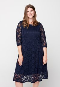 Zizzi - Day dress - blue - 0