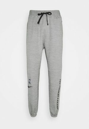 NBA LA LAKERS THERMAFLEX SHOWTIME TUNNELVISION PANT - Equipación de clubes - grey heather/black/white