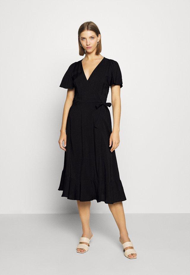 MASSU - Vestido informal - black