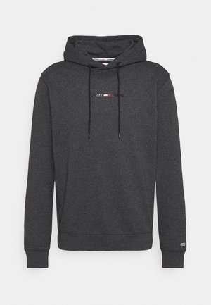 GEL STRAIGHT LOGO HOODIE - Sweatshirt - black