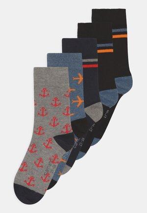 ONLINE CHILDREN 5 PACK - Socks - light grey melange