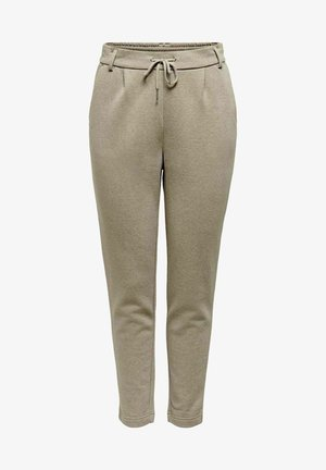 LOOSE FIT - Tracksuit bottoms - walnut